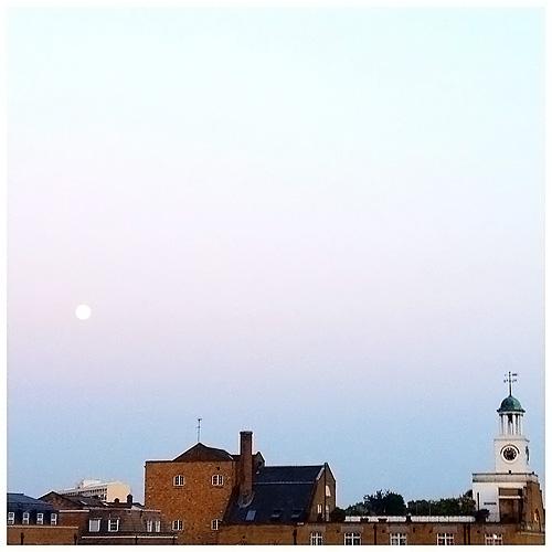 Moon in Twilight